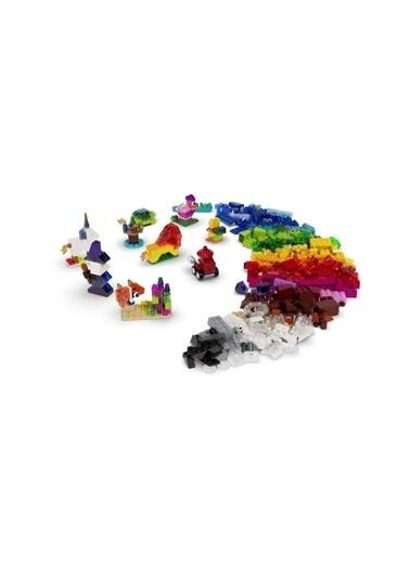 Lego Legoclassic Yaratıcı Şeffaf Yaşım Şarçaları 11013 - Çocuklar İçin Yaratıcı Oyuncak Yaşım Seti (500 Şarça) Renkli